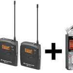 Free Zoom H4n With Purchase of Sennheiser Wireless Mic System